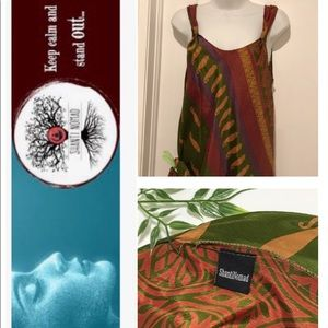 SHANTI NOMAD STUNNING SILK DRESS